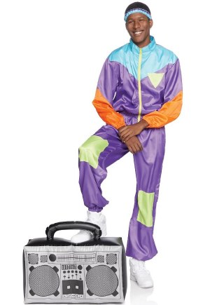 80s Awesome Ski Suit