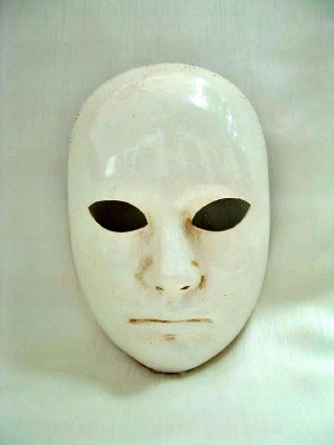 Classic Full Face Mask in White
