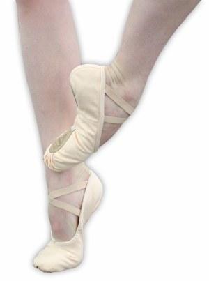 Ballet Slipper - Pro 1C Canvas Pink