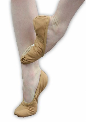 Ballet Slipper - Pro 1C Canvas Tan