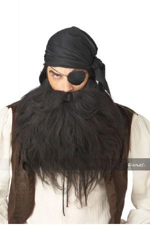 Pirate Beard Blk