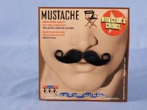 Barbershop Moustache  - Black