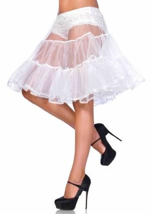 Shimmer Knee Length Petticoat