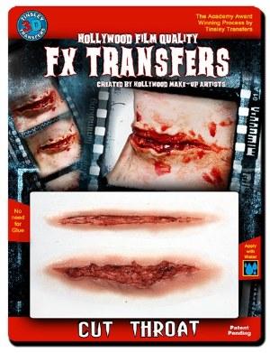 3D FX Transfer Cut Throat