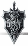Dragon Lord Shield & Sword