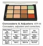 Concealers & Adjusters Palette