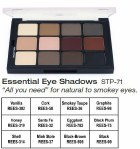 Essential Eye Shadows Palette