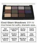 Cool Glam Shadows Palette