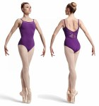 Camisole Leotard with Panel Back