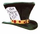 Mad Hatter Hat - Green