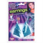 Drop Earrings - Blue