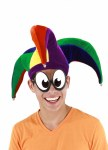 Multicolour Jester Hat
