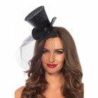 Burlesque Mini Glitter Top Hat