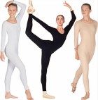 Cotton Long Sleeve Unitard
