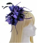 Hair Corsage - Purple