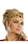 Headpiece with Red Jewels