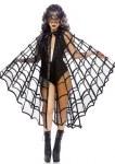 Velvet Spiderweb Cape