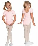 Kids Short Sleeve Leotard