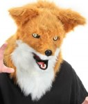 Moving Mouth Mask Fox
