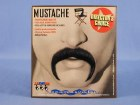 Rounded Moustache Brown