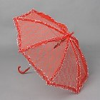 Parasol Small - Red Lace