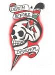 Tattoo D.B.D Skull