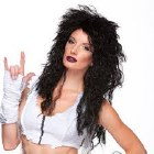 Heavy Metal Wig - Black