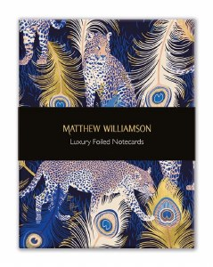 Leopard & Feather Boxed Luxury Notecards