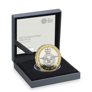 RAF Crest Silver Proof £2 Coin