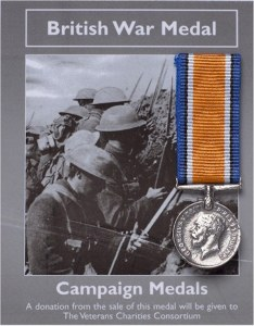 British War Medal: Miniature Replica Medal