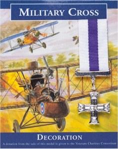 Military Cross: Miniature Replica Medal