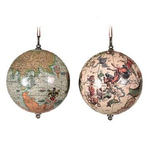 The Earth And The Heavens Hanging Globe Set