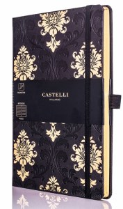 Castelli Baroque Gold Notebook