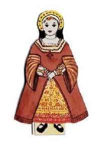 Tudor Dress Up Paper Doll