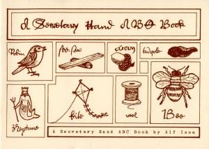 A Secretary Hand ABC Book
