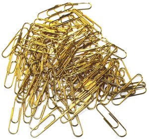 Brass Non Rusting Paperclips