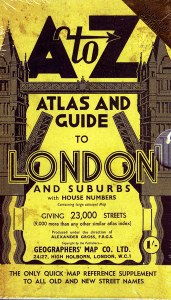 1938 A to Z Atlas And Guide To London