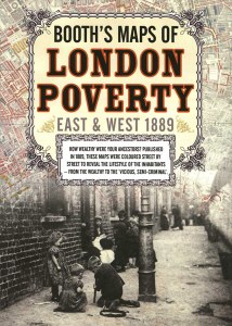 Booth's Maps of London Poverty : East and West 1889