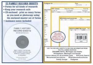 Family History Record Sheets