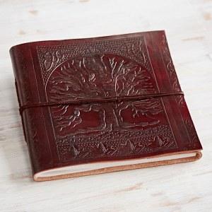 Medium Leather Tree Of Life  Album Journal
