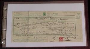 5 Inert Museum Quality Polyester Pockets for De-luxe Certificate Binder