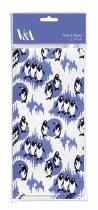 Tissue Paper Sheets Penguin Print