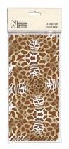 Tissue Paper Sheets Giraffe Print