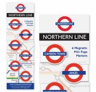 Northern Line Magnetic Page Markers
