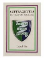 Suffragettes Lapel Pin