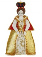 Queen Victoria Tree Decoration