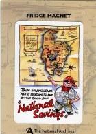 National Savings Treasure Island Fridge Magnet