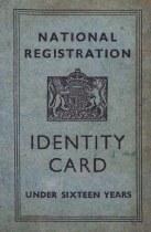 Replica WW2 National Registration Identity Card