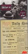 Replica Outbreak of WWI Newspaper