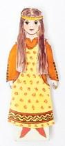 Medieval Dress Up Paper Doll